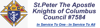 St Peter's Catholic Church Knights Of Columbus